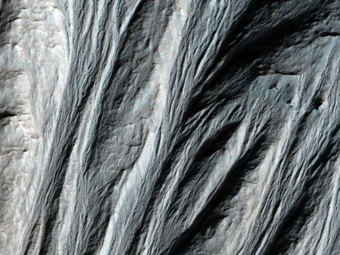 Surcos en Marte