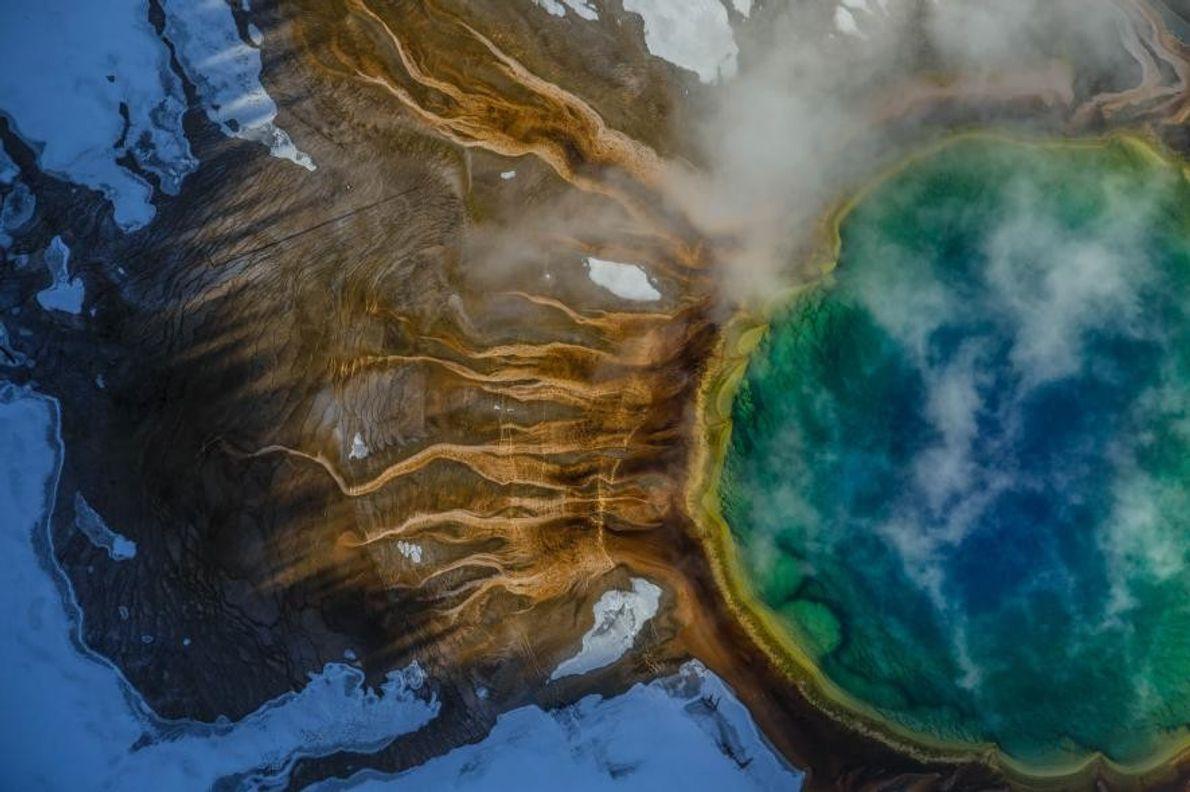 Gran Fuente Prismática en Yellowstone