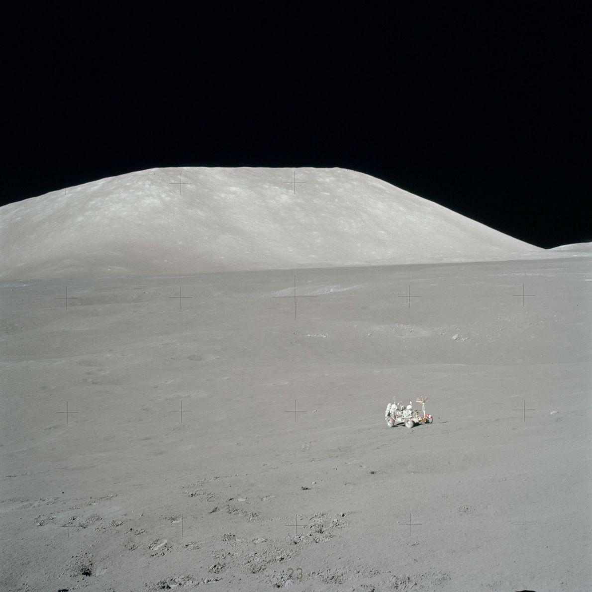 La NASA diseñó el rover lunar