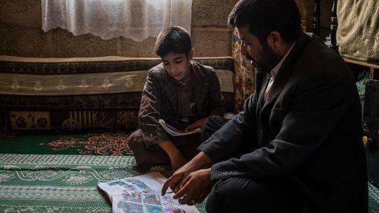 Yahya Abdullah y su hijo