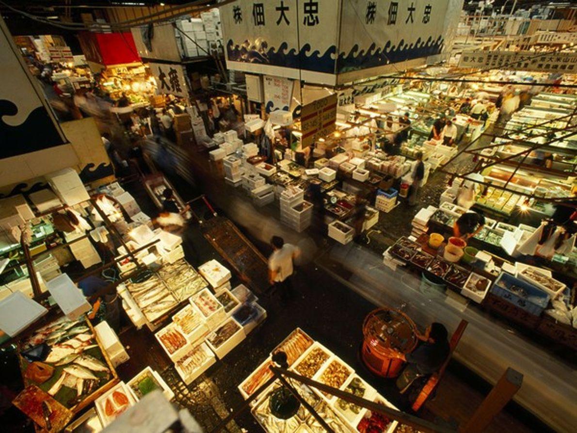 Puestos de venta de pescado