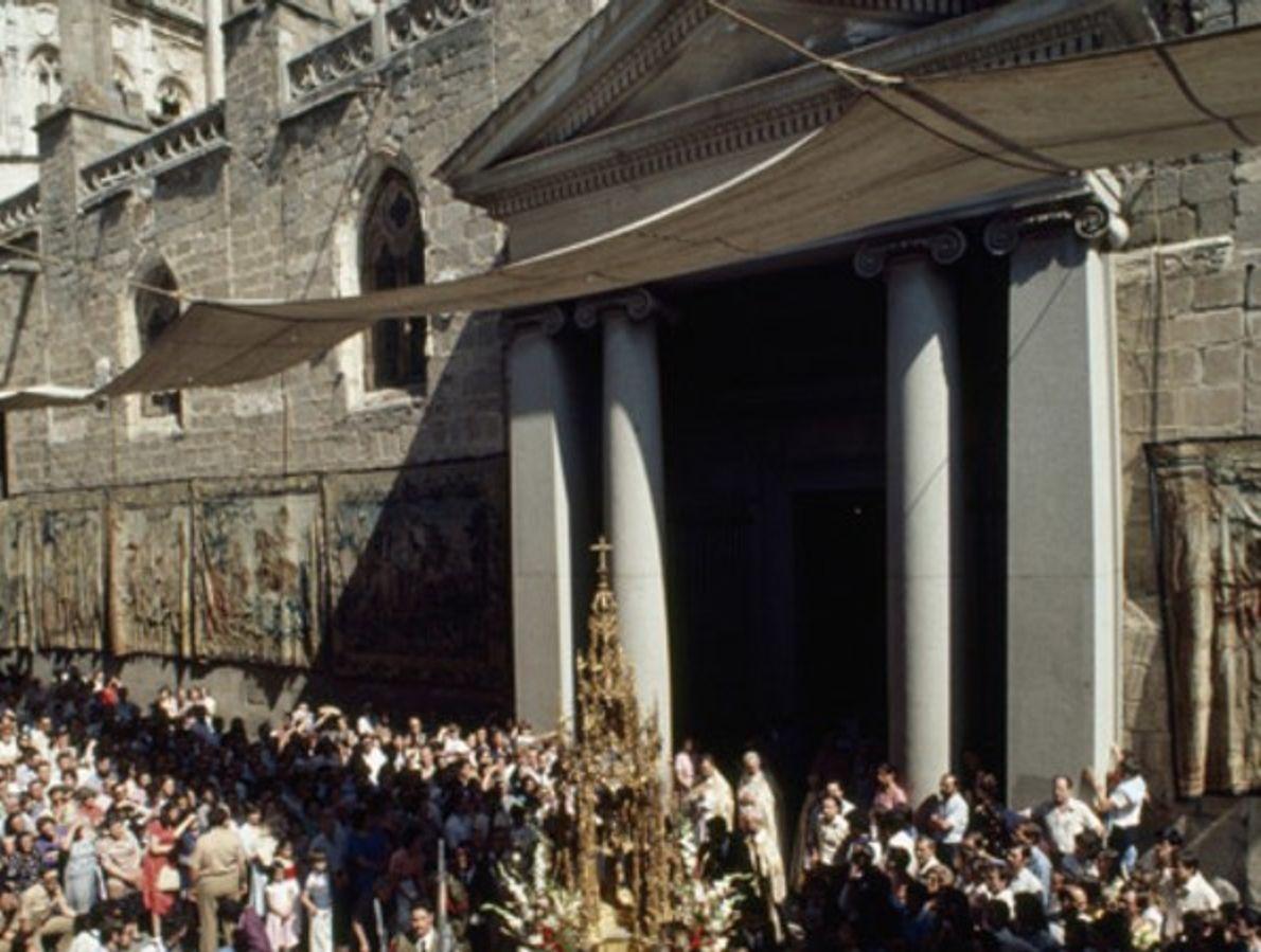 La Catedral de Toledo, en la plaza del ayunamiento