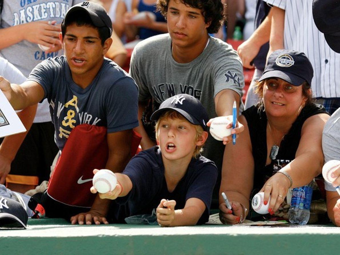 Seguidores de los Yankees