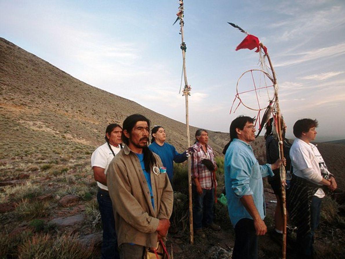Indios Shoshone, Nevada