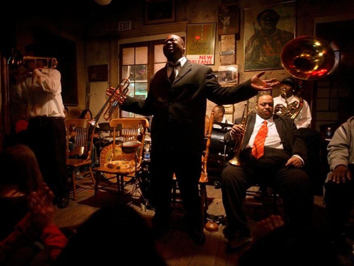 El jazz de Nueva Orleans