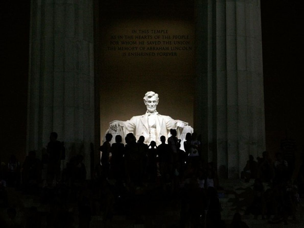Escultura conmemorativa de Lincoln, Washington, D.C