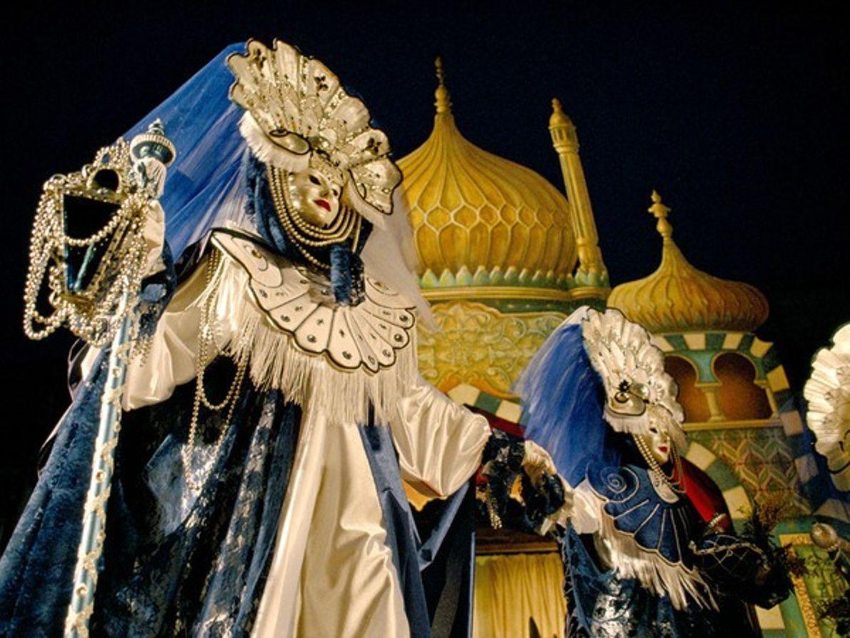 Disfraces en el carnaval
