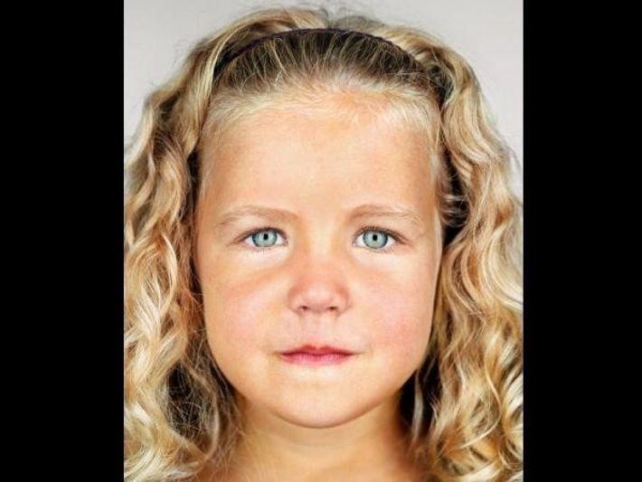 El pelo rubio depende de un cambio de par de bases de ADN.