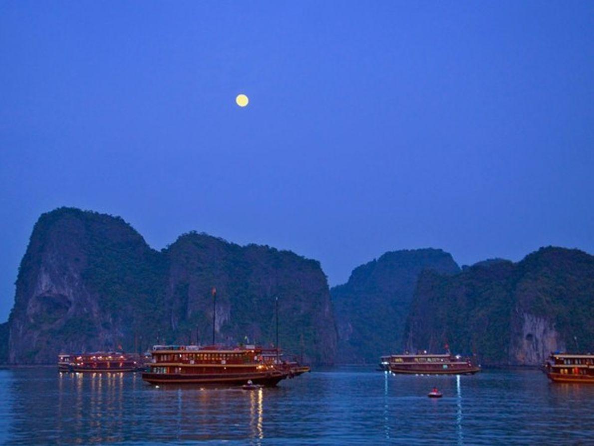 La Bahía de Halong, patrimonio de la Humanidad