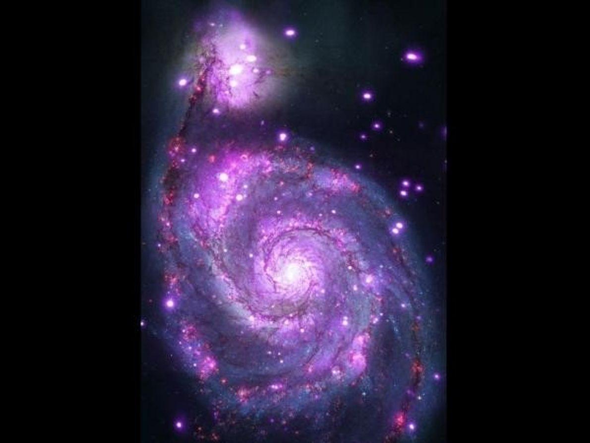 La galaxia espiral