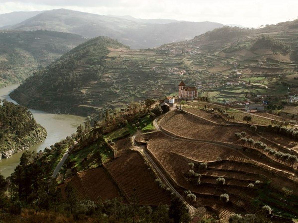 Valle del río Duro, Portugal