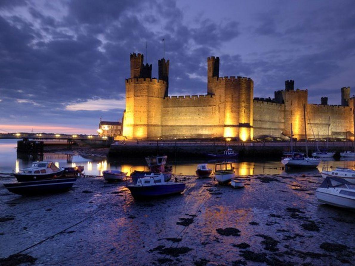 El castillo de Caernarfon