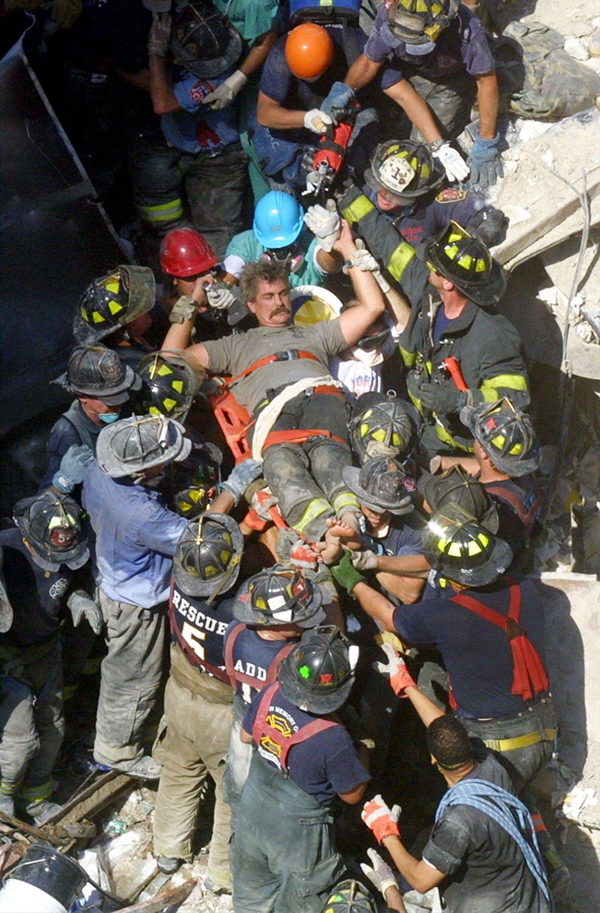 Labores de rescate