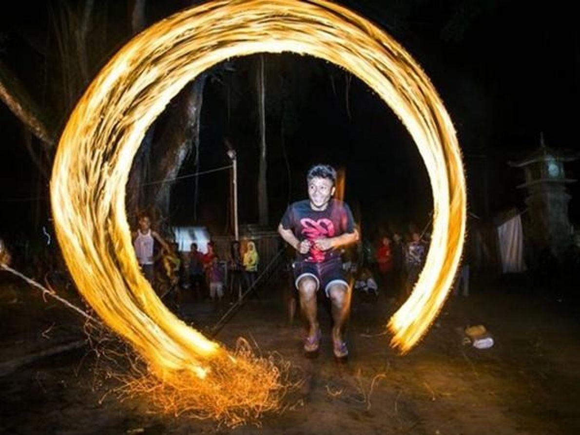 Atravesando el fuego