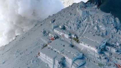 La erupción del volcán Ontake en imágenes
