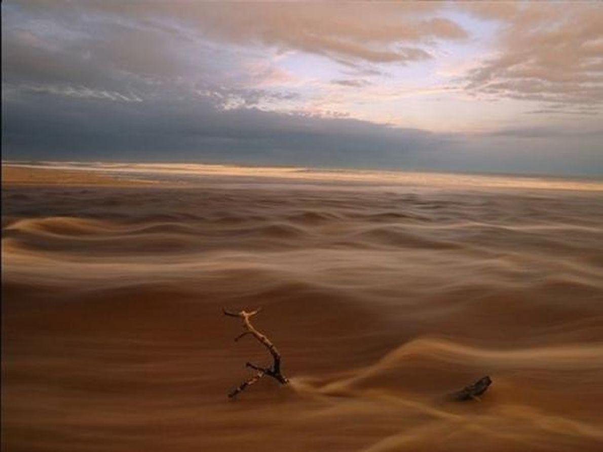 Agua y arena
