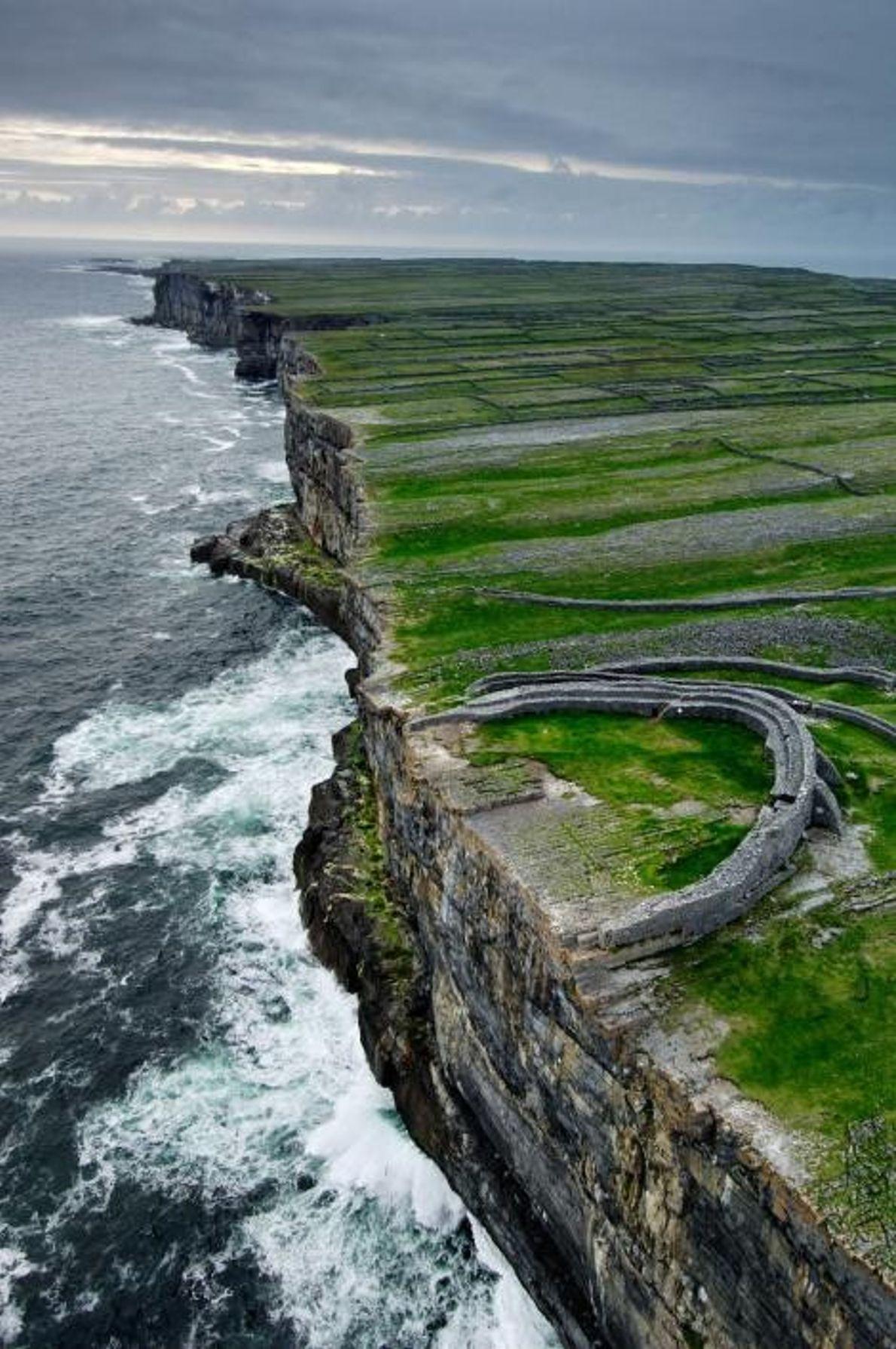 El fuerte de Dún Aengus