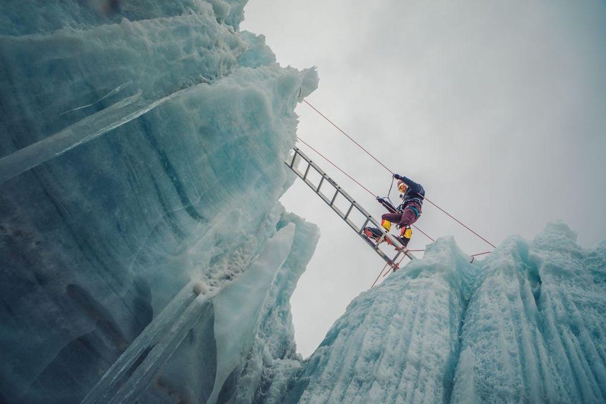 Eman Al Majali, escaladora jordana
