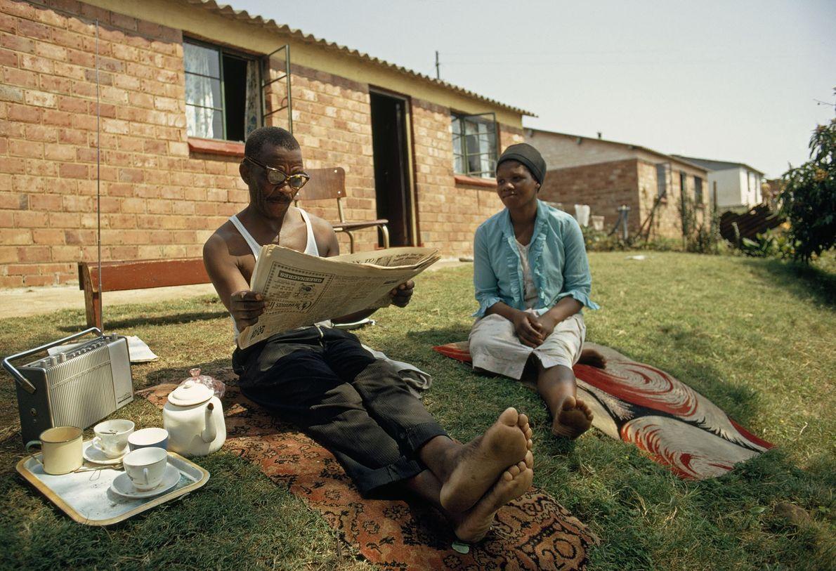 Una pareja zulú