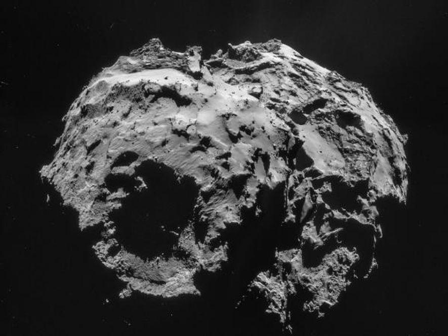 El cometa 67P