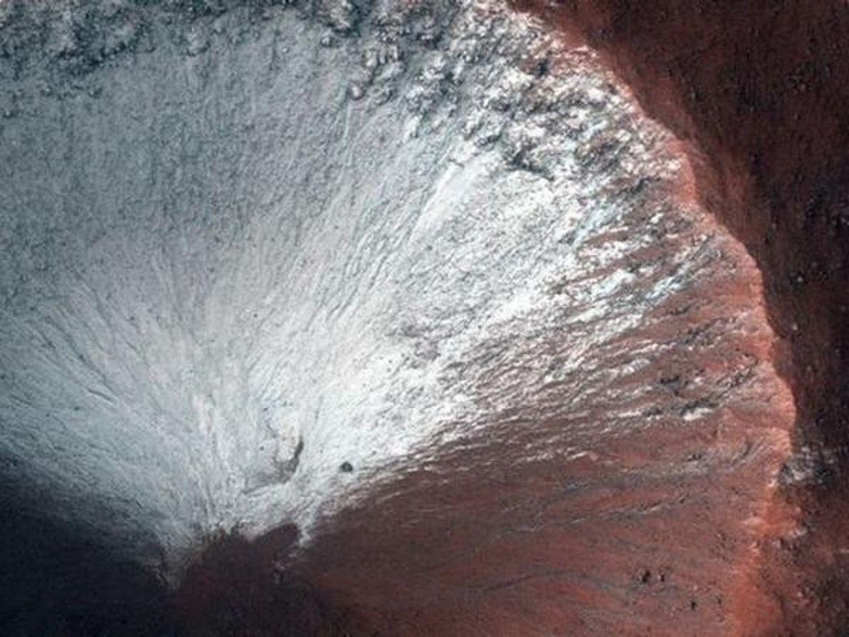 Cráter helado