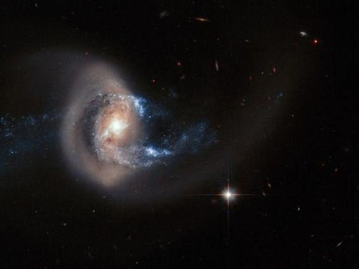 Choque entre galaxias