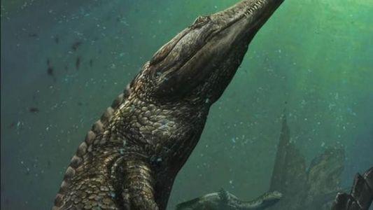 Descubierto un cocodrilo marino de diez metros