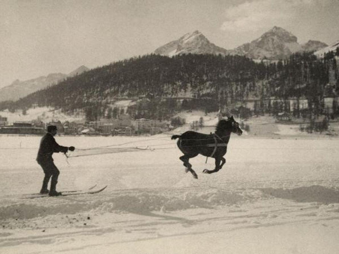 Esquí a caballo