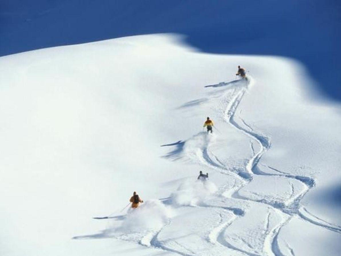En busca de la nieve virgen