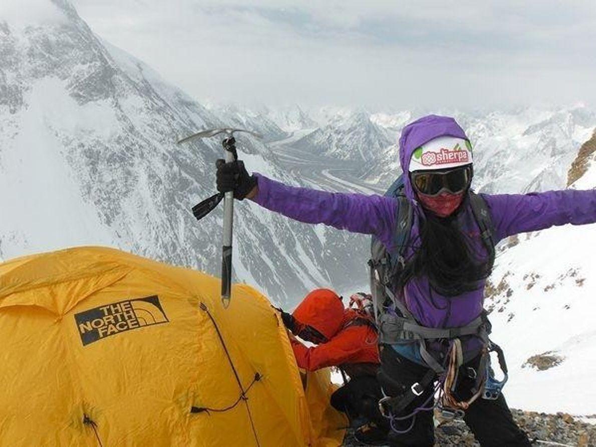 En el campo II del K2