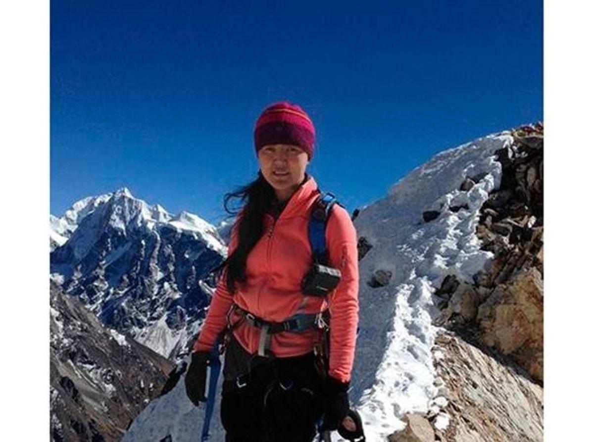 Ascensión al pico Yala