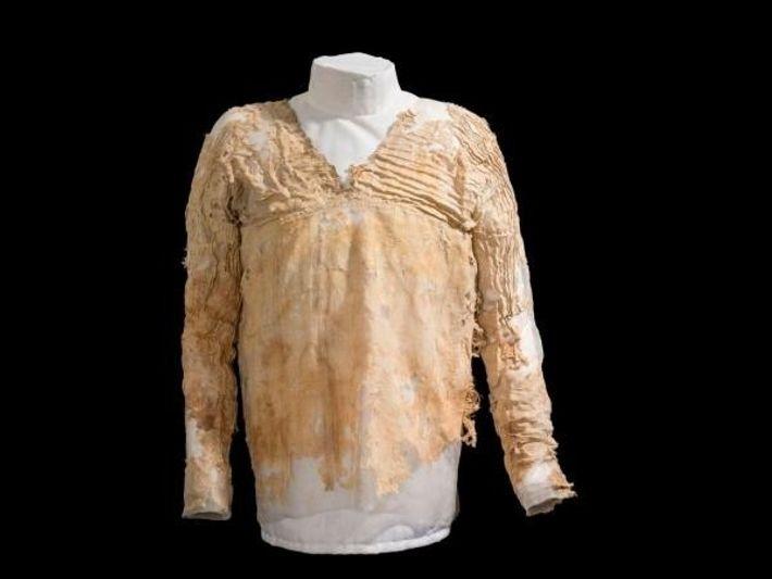 El vestido Tarkhan egipcio, el más antiguo del mundo