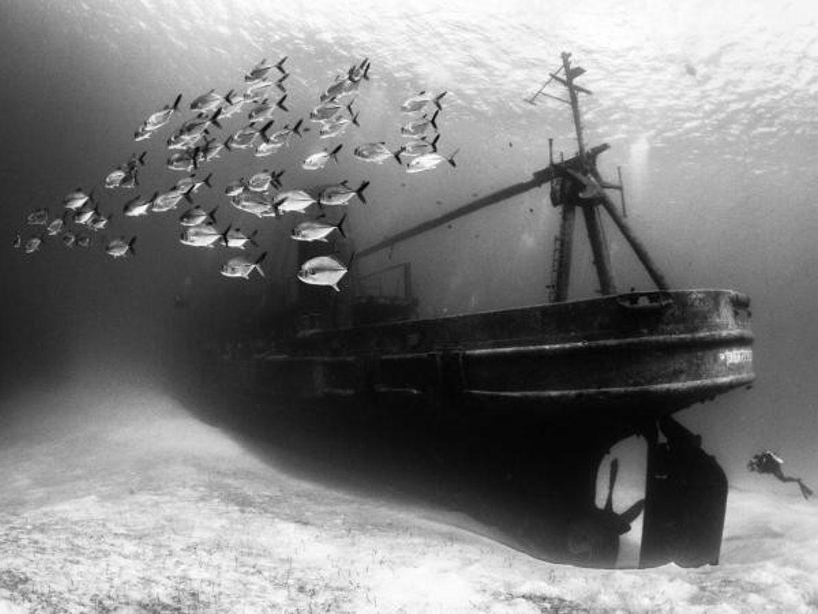 El hundimiento del USS Kittiwake