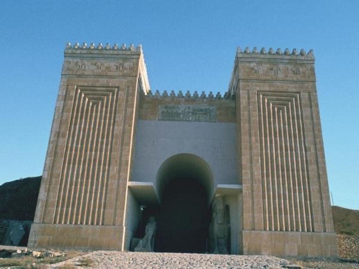 La puerta de Nergal, en Nínive