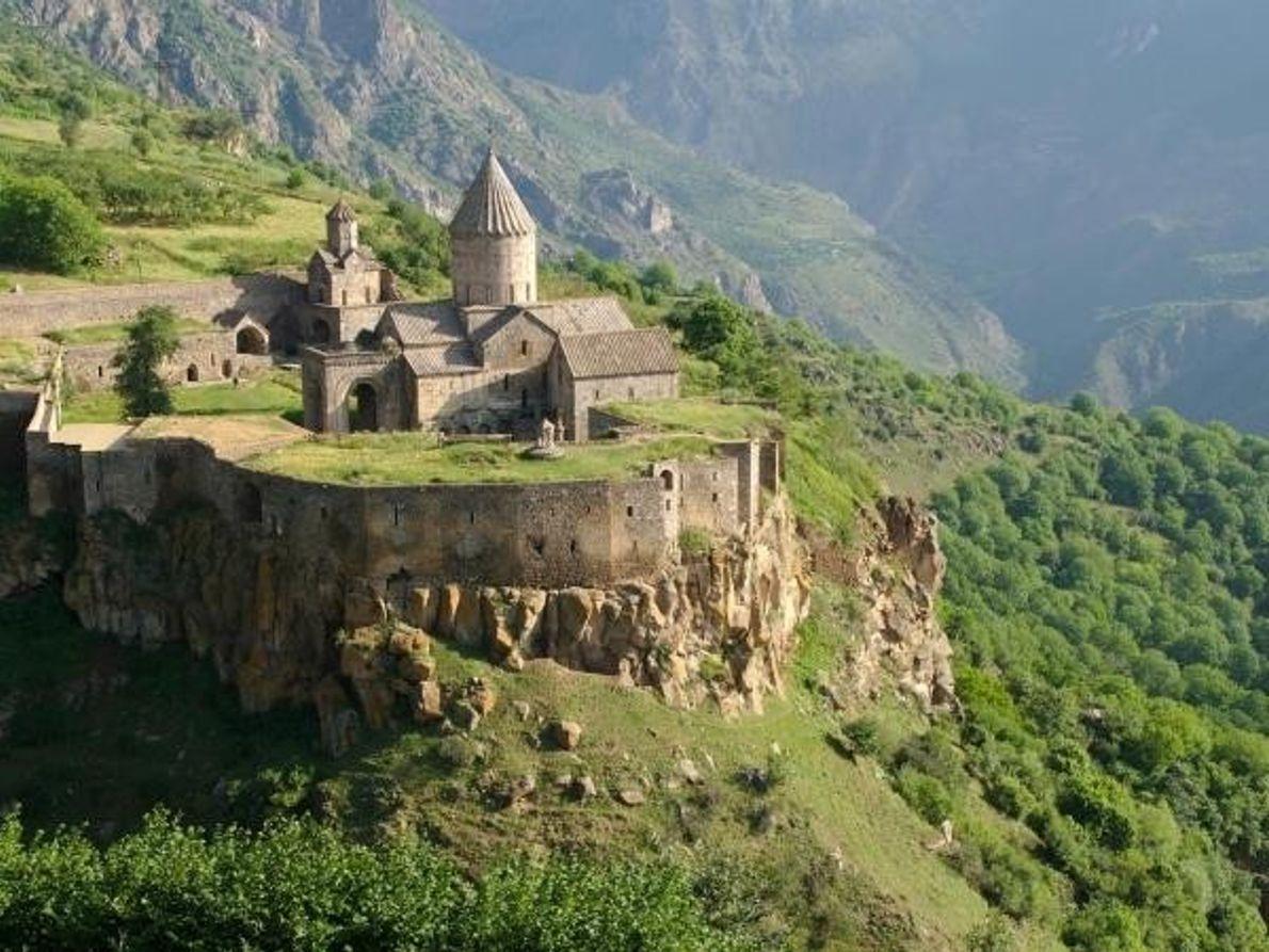 El monasterio de Tatev, en Armenia