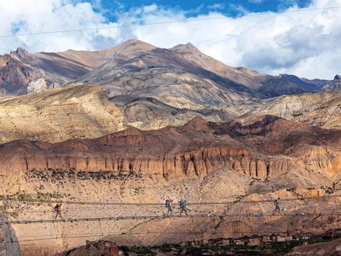 Circuito del Annapurna, en Nepal