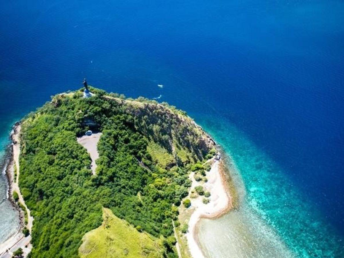 Cabo Fatucama en Timor Oriental