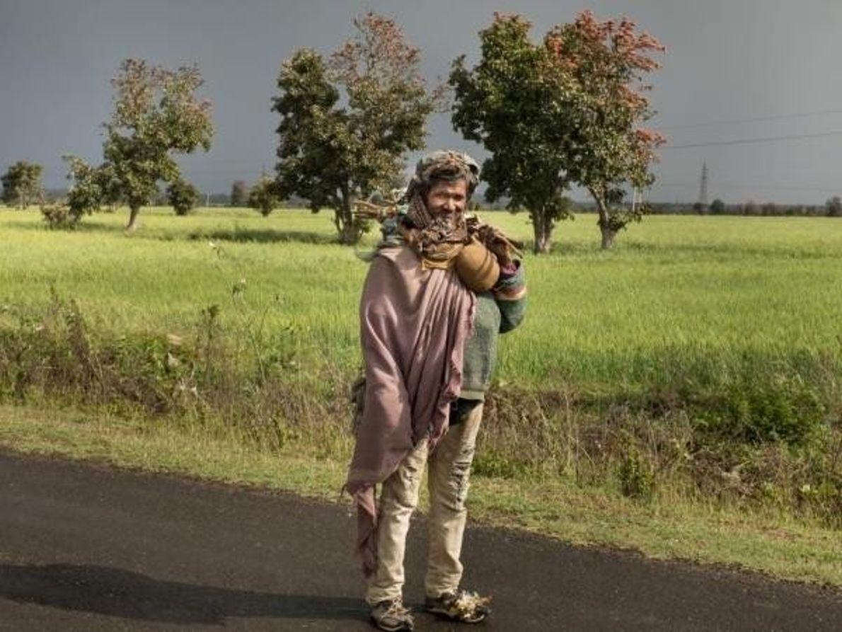 El vagabundo de Madhya Pradesh