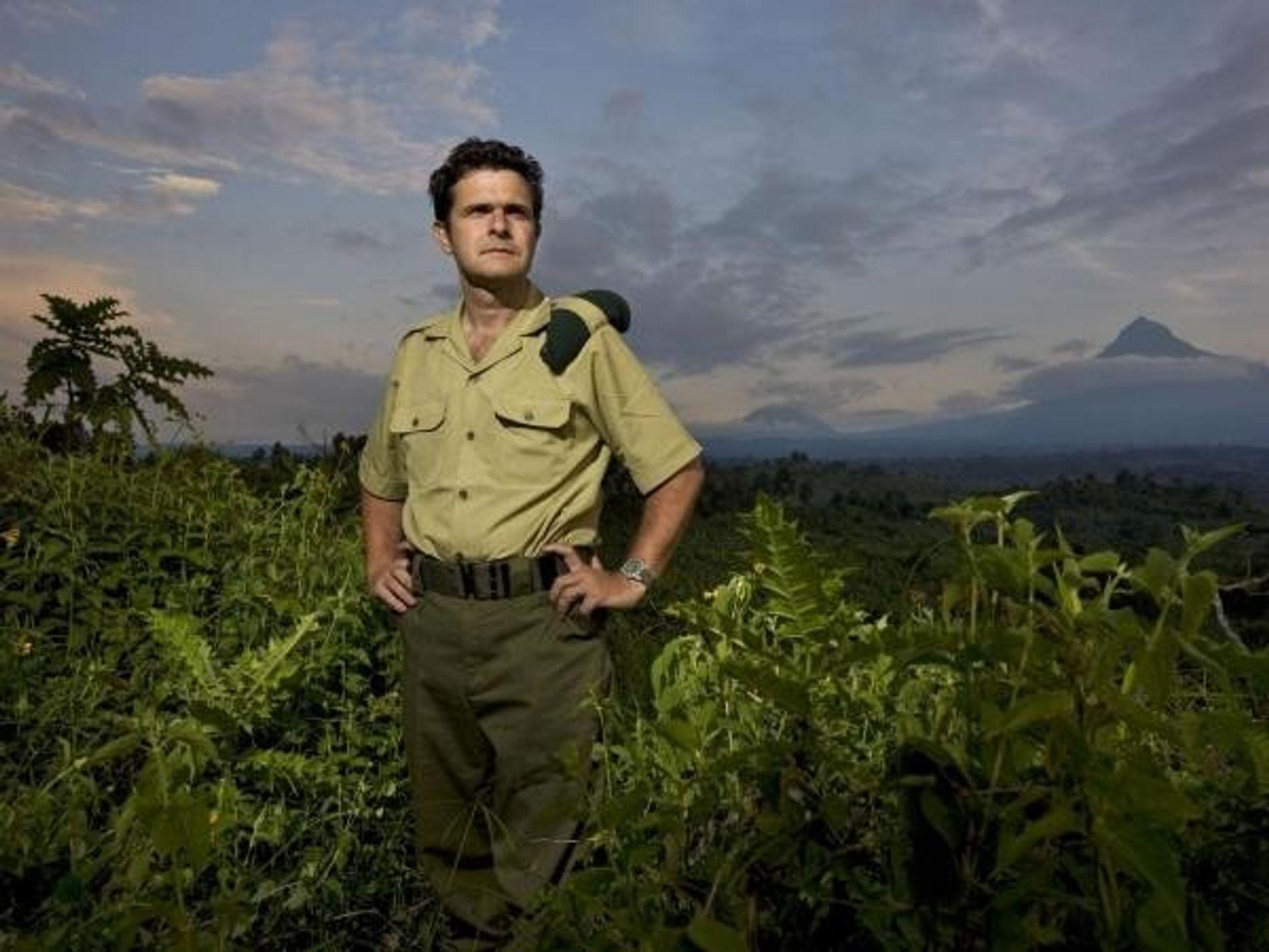 Emmanuel de Merode, director del Parque Nacional de Virunga en la República Democrática del Congo.