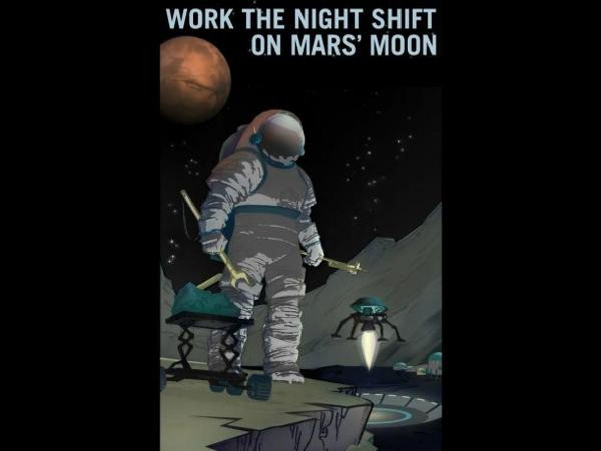 El turno de noche marciano