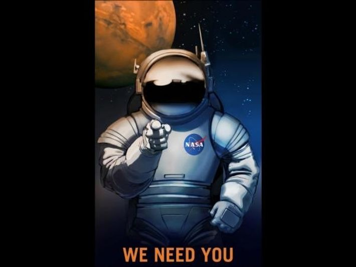 Reclutando astronautas