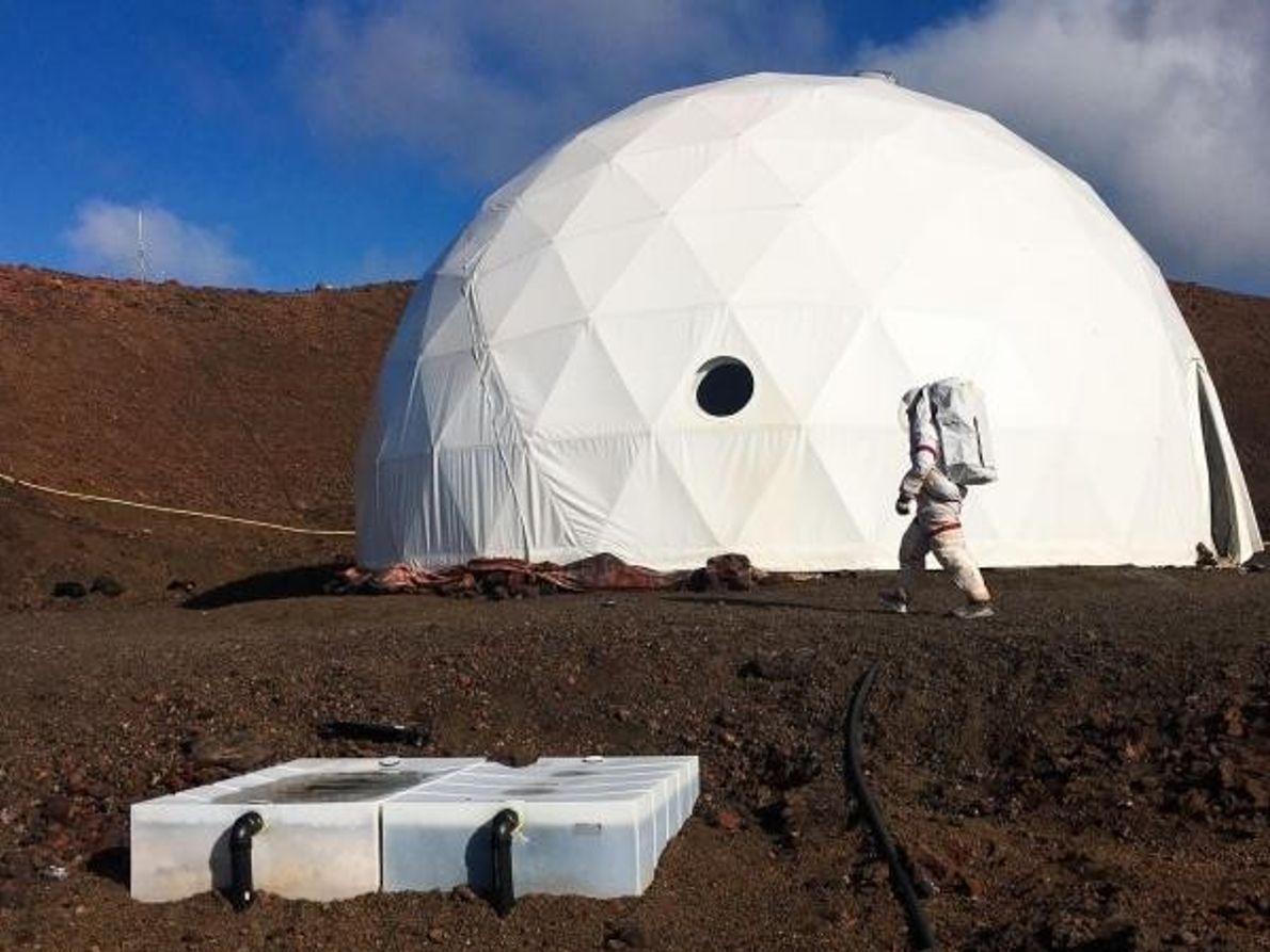 La vida en la cúpula