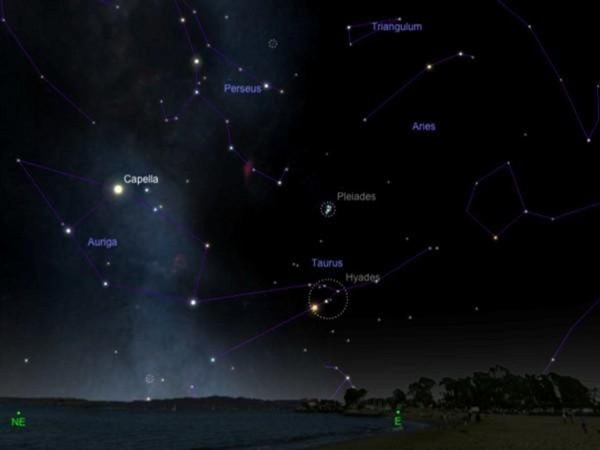 La lluvia de estrellas Táuridas – 11 de noviembre