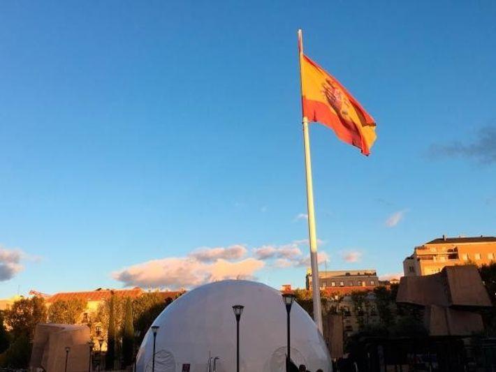 Domo en la Plaza Colón