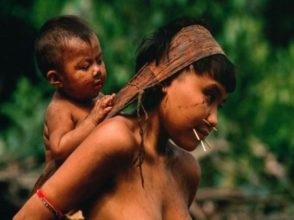 Mujer Yanomami