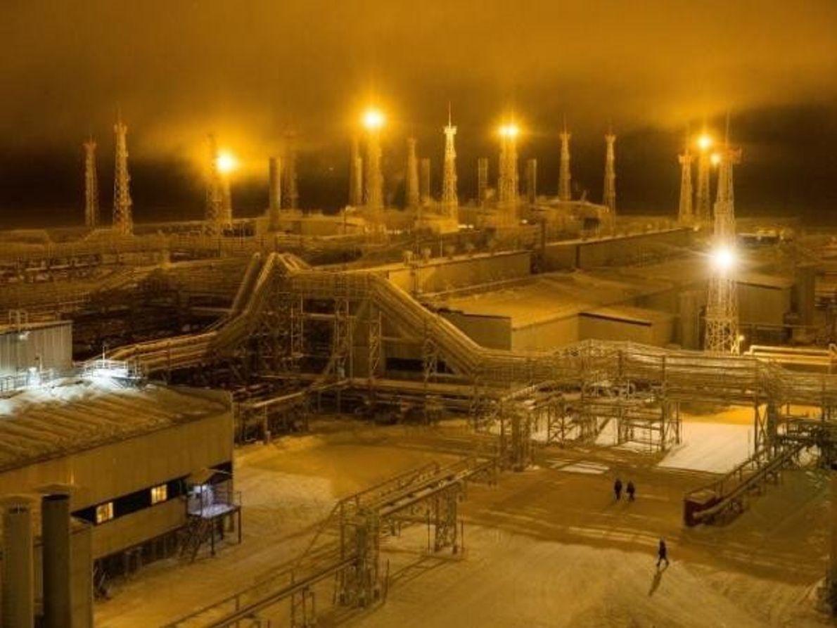 Yacimiento de gas natural de Bovanenkovo