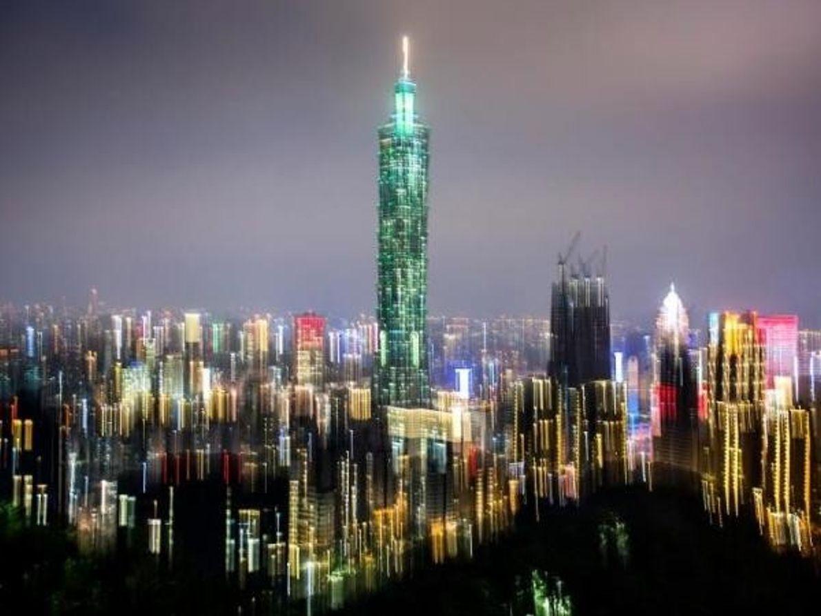 Skyline de Taipéi