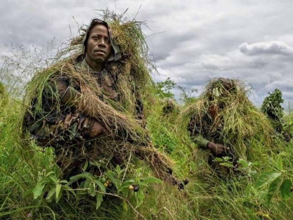 Rangers del Parque Nacional Virunga