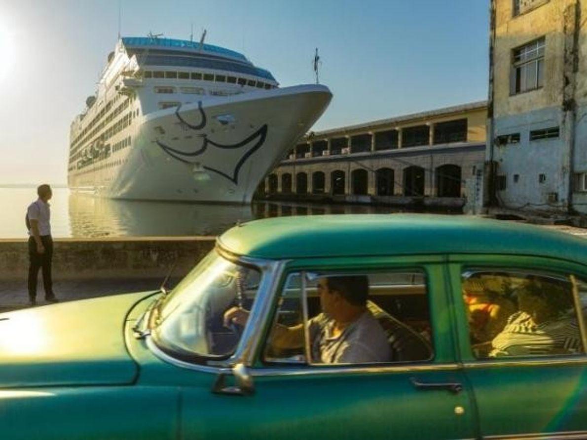 Crucero americano en La Habana