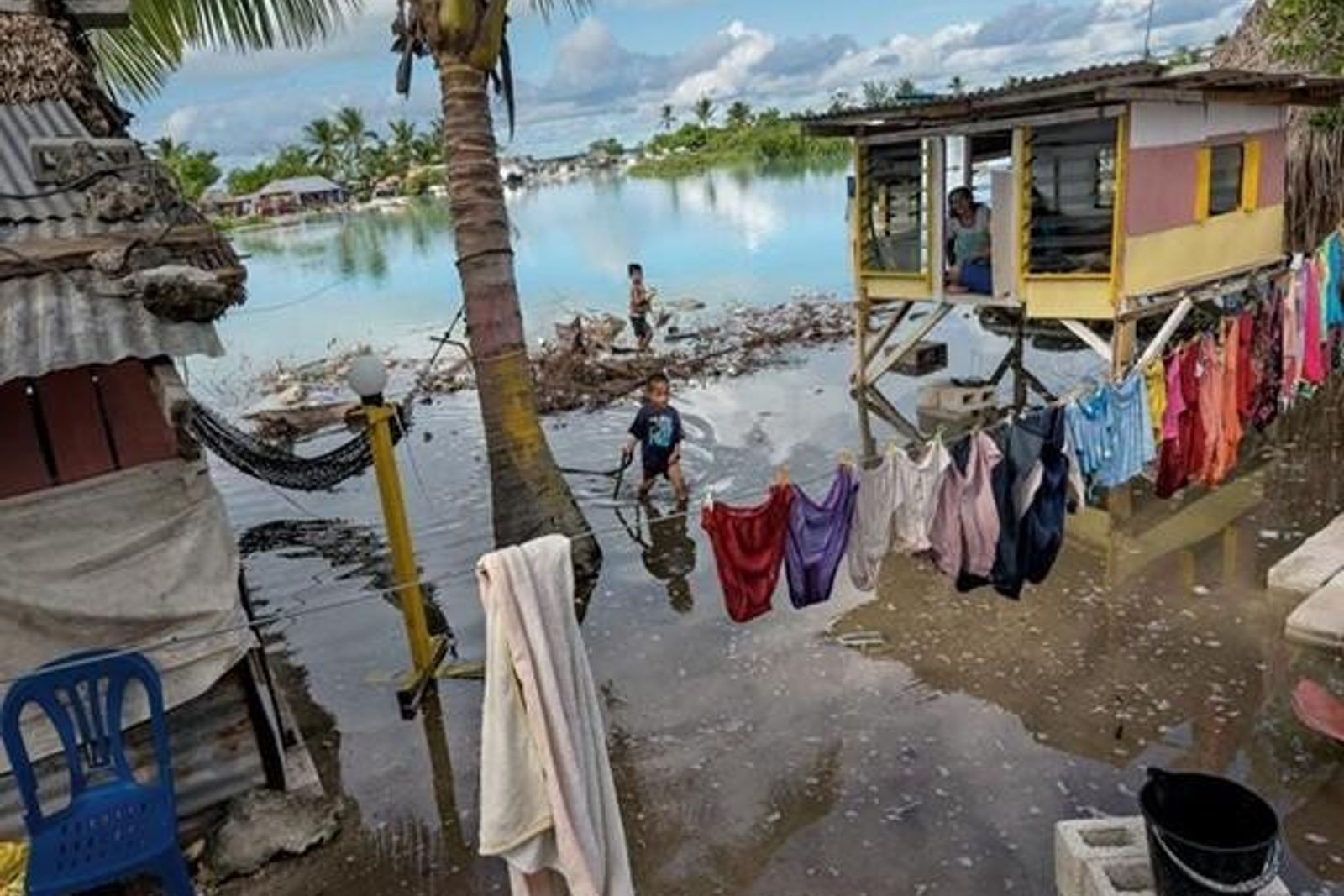 Familias en Kiribati